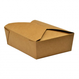 Caja Vegware 5 para comida para llevar cartón (Pack de 150 uds.)