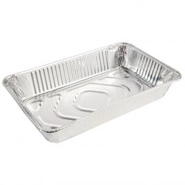 Contenedor de aluminio rectangular GN 1/2 y GN 1/1 (Pack 5)