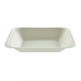 Bandeja para llevar fritos compostable (caja 500)