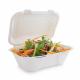 Envàs compostable abatible de bagàs per menjar (Pack de 200 unitats.)