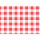 Papel antigrasas cuadros rojos (Pack de 200 uds.)
