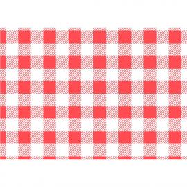 Paper antigreixos quadres vermells (Pack de 200 uds.)