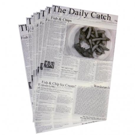 Láminas de papel antigrasa (Pack de 500 uds.)