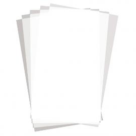 Carrés de papier ingraissable uni (Pack de 500 uds.)