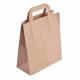 Bolsa de papel reciclado marrón (Pack de 250 uds.)