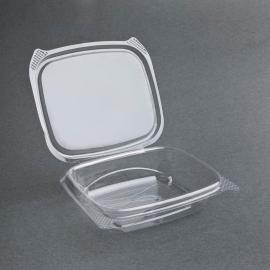 Envàs compostable Deli PLA tapa abatible (Pack of 200)
