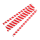 Compostable Paper Smoothie Straws Red Stripes (Pack of 250)
