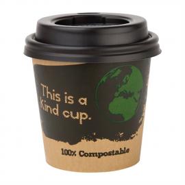 Gobelets boissons chaudes compostables