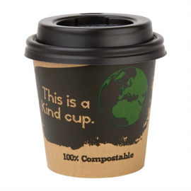 Vaso compostable bebidas calientes