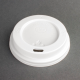Coffee Cup Lids White