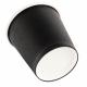 Vasos desechables para espresso negros Fiesta 114ml x1000