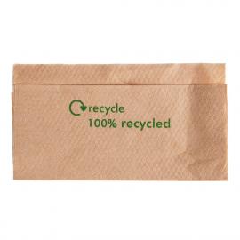 Servilletas recicladas kraft