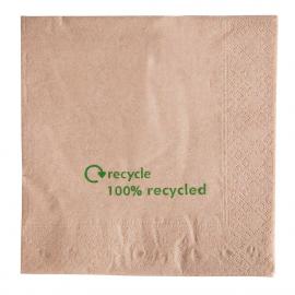 Serviettes 1 pli en papier recyclé
