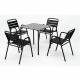TERRASSE DE TABLE COMPACT PLUS 80x80