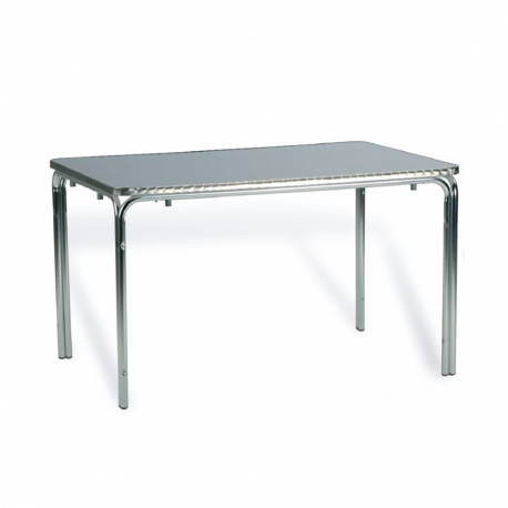 TABLE DROITE EMPILABLE