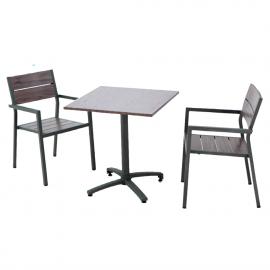 TABLE SUEZ 70x70