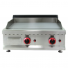 Fry-top professionnel gas 60 chrome dur