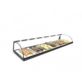 SAYL Standard Curved display case
