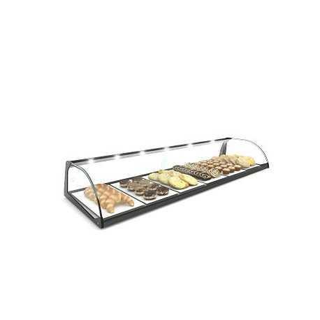 SAYL Standard Curved display case