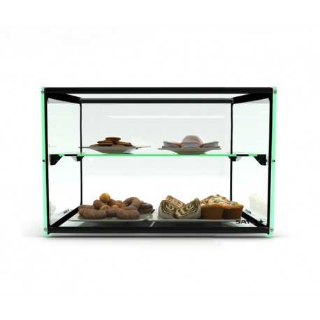 SAYL Straight Line display case with shelf