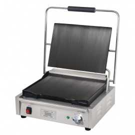 Electric grill smooth plates