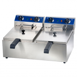 Double Electric fryer 12 L
