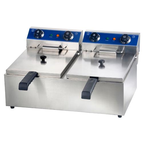 Double Electric fryer 12 L