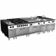 Griddle gas hard chrome EM9