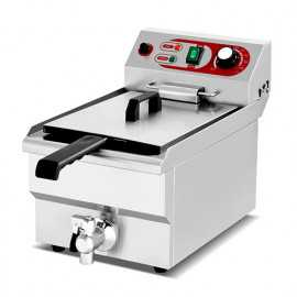 10 liter industrial electric fryer with tap