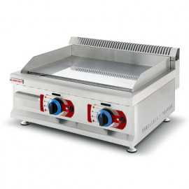 Fry-top professionnel gas 600
