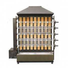 Rostidor de pollastres de llenya 5 espases ample