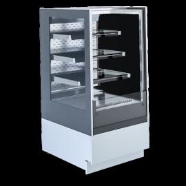 Bakery Display Case Cube 2 Open