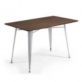 LOW RECTANGULAR ANTIK OLD WHITE TABLES