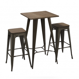 HIGH SQUARE ANTIK OLD TABLES