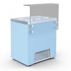 GELATO 2 artisan ice cream display case