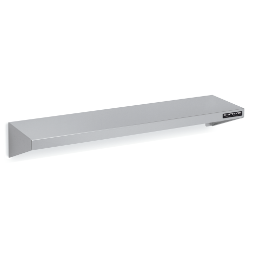 Industrial kitchen shelves with gussets 400 cm deep