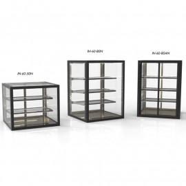 Compact integrated 60 neutral display case