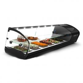 Shark 2P 1-shelf refrigerated tapas display case