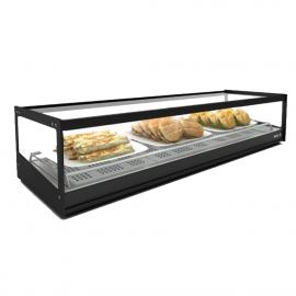 Logic 1P Sahara hot tapas display case