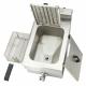 friteuse électrique double robinet