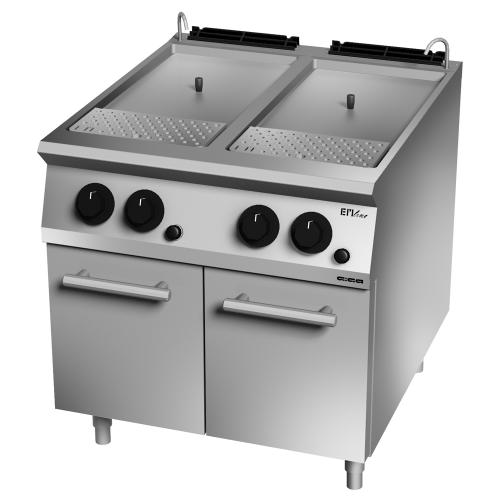 Gas pasta cooker 80 L
