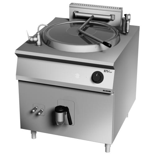 Marmite industrielle à gaz directe 150 litres