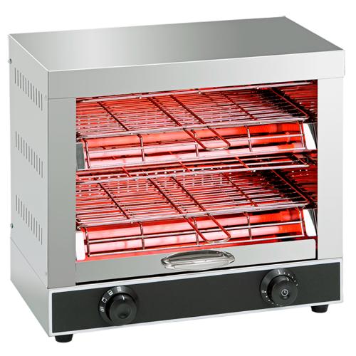 Electric toaster 2 decks
