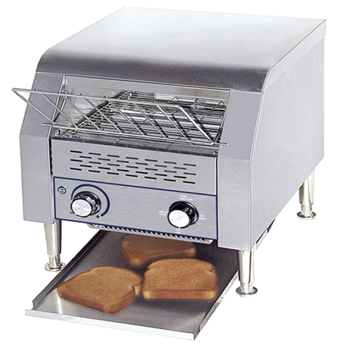 Electric conveyor belt toaster