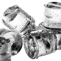 Round ice cube machines