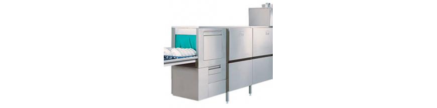 Rack-type dishwashers