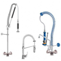Commercial kitchen taps