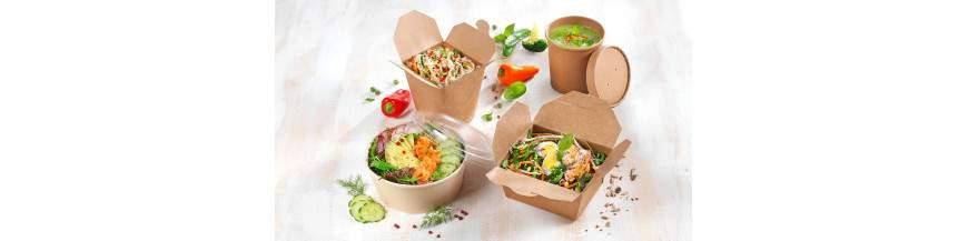 Envasos menjar per emportar