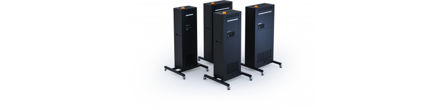 Purificador de aire profesional + ionizador STERYLIS GASTRO