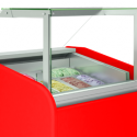 Ice cream display cases